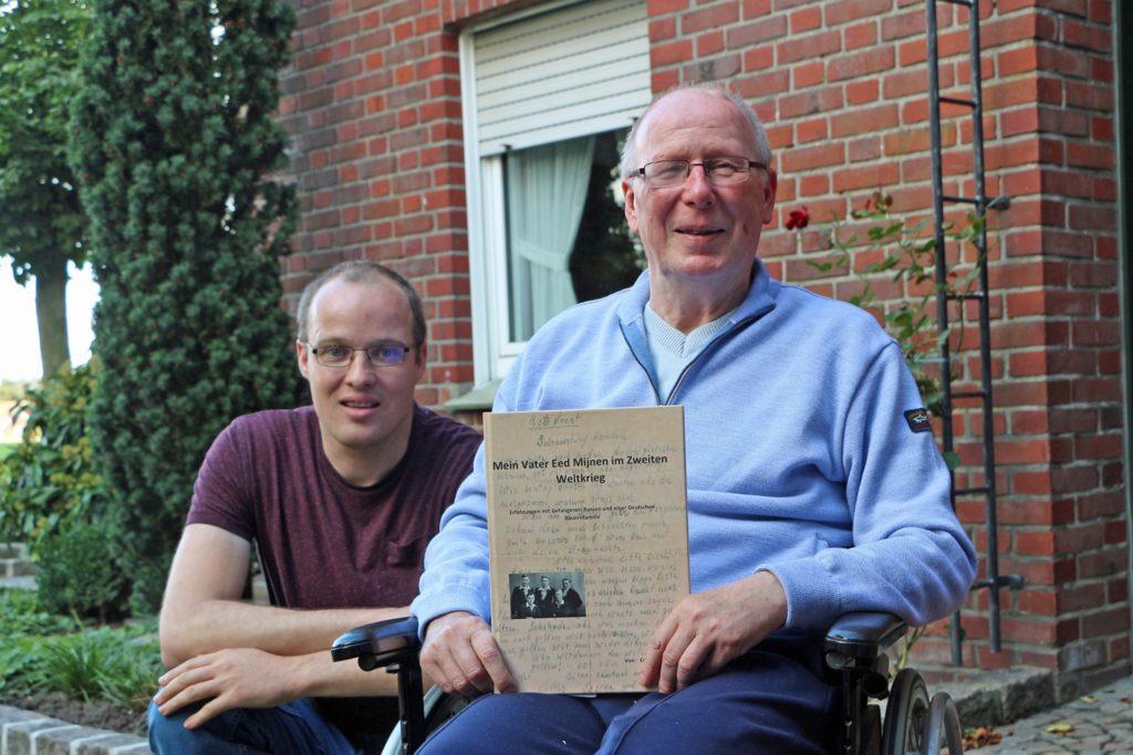 Rene Mijnen begleitete seinen Vater Ed an den Ort, an dem für ihren Großvater und Vater eine besondere Freundschaft zu einem russischen Kriegsgefangenen begann.