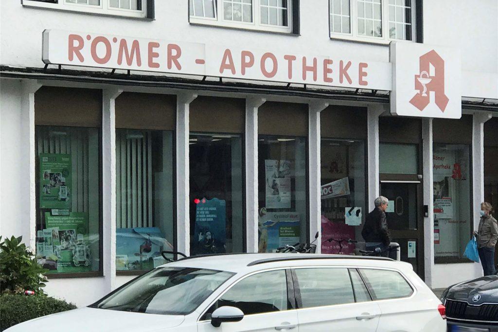 Mit dem Umzug wird die Römer-Apotheke modernisiert.