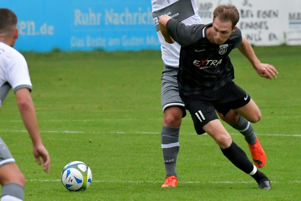 Sebastian Hahne trat bei seinem Comeback direkt wieder als Torschützen in Erscheinung.