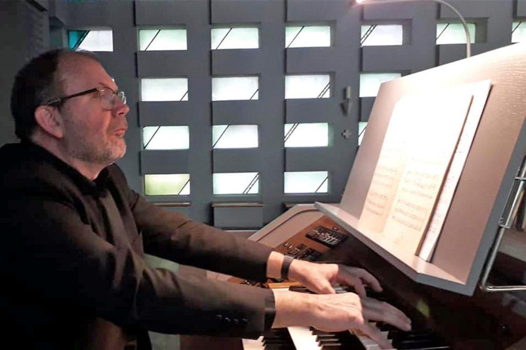 Jan Willem Docter, hauptamtlicher Kirchenmusiker der Ahauser Pfarrgemeinde St. Mariä Himmelfahrt