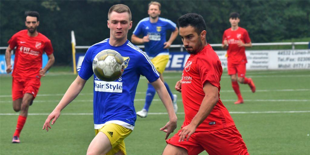 Ahmet Karaduman erzielte am Wochenende den Siegtreffer für die SG Gahmen.