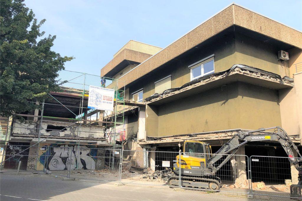 Vor rund einer Woche hat der Investor die Baufreigabe für den Umbau des ehemaligen Kaufhauses Konze erhalten.