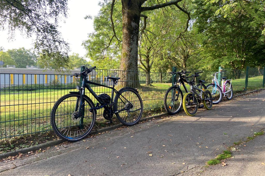 Während der Stadtradeln-Aktion kommen laut Frieda aus Marten mehr Schüler mit dem Fahrrad als sonst.