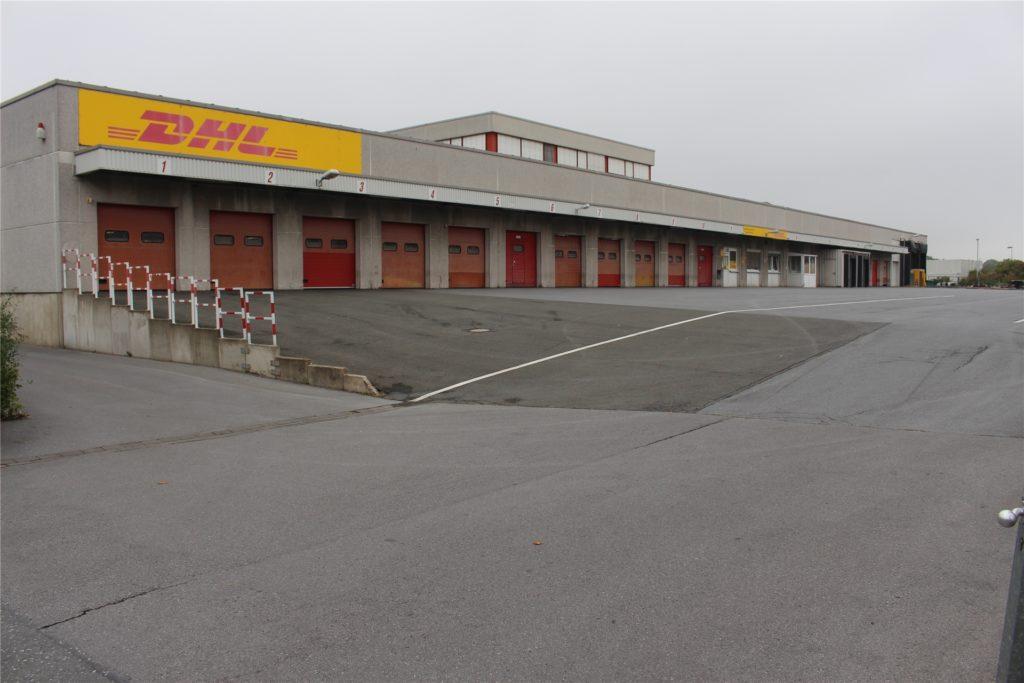 Der alte Standort an der Westfalia-Straße ist der DHL zu klein geworden.