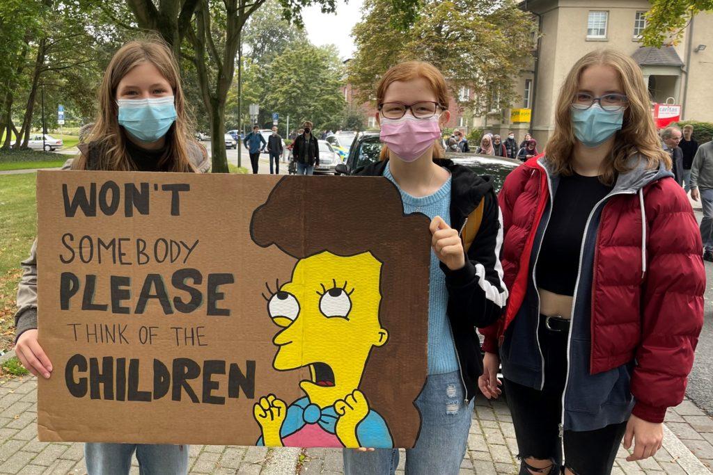 Die Schülerinnen fordern:
