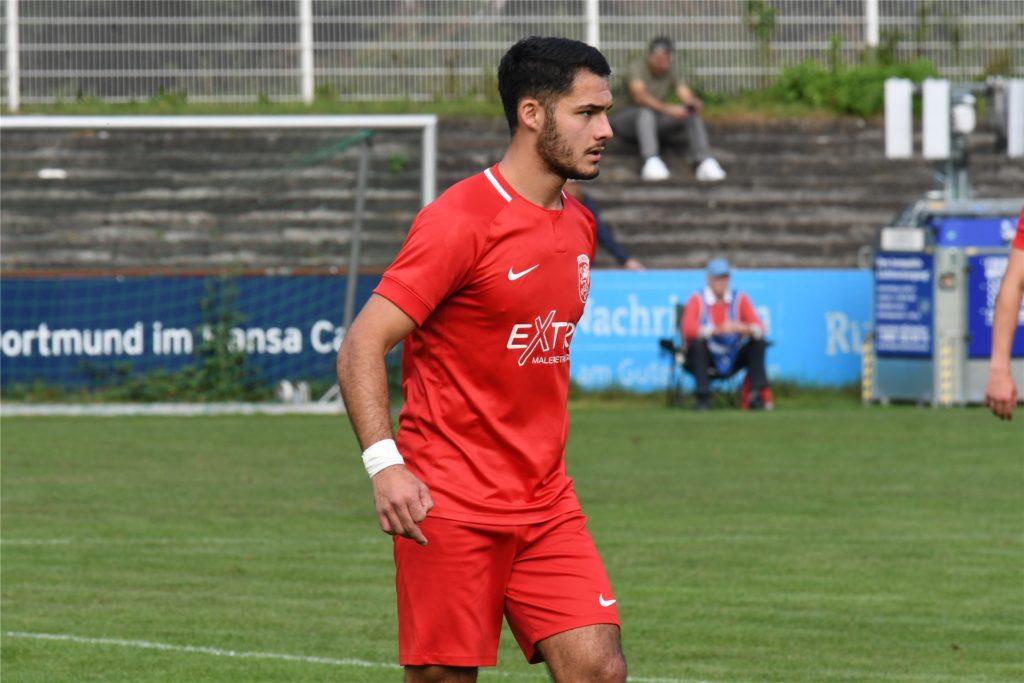 Alfredo Rivera feierte gegen Tengern sein Debüt für den Lüner SV.